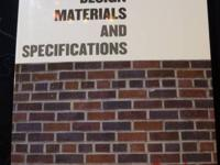 Interior Design: Materials and Specifications