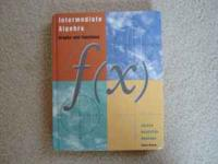 I am selling an Intermediate Algebra , third edition