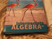 Hi! I am offering my Intermedia algebra book by Miller,