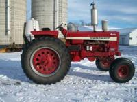 for sale is a farmall 1026 hydro serial #8093.It reads