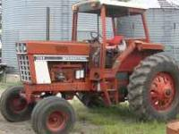 FOR SALE: International 1586 tractor, Rops, 3 pt., new