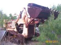 DT 407 Diesel, BW powershift its a 2yd bucket. This