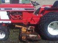 International 184, 4 cyl. gas, no rust, good paint,