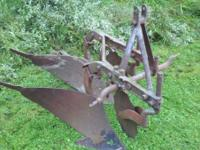 2- bottom plow good shape can be seen at: Pennock's