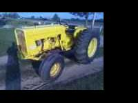 1965 International 2404 tractor with 37 pto horsepower.