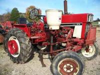 International 274 tractor with 144T culitvators diesel