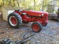 International 300 tractor,runs and drives needs alittle