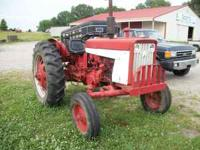 INTERNATIONAL 504 TRACTOR RUNS GOOD 2900.00 CALL STEVEN