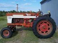 1960 International 560 with a gas engine. Everything in