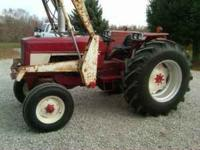 1975 international 674 GAS tractor with model# 22