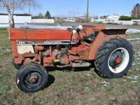 Selling one International 684 diesel tractor. 69 hp,