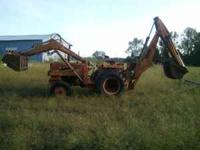 Asking $2100 or obo. International backhoe all the