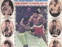 INTERNATIONAL BOXING SOUVENIR HEAVY WEIGHT ISSUE