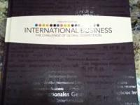 A&M International Business, 12th edition. $50. Call