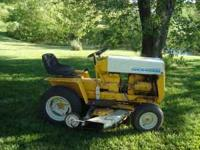 "International Club Cadet Model 102 42"" Deck. This mower"