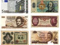 International $$$ Collectible Bank Notes World Money
