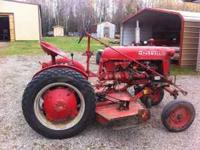 For Sale: 1950, I think, International Cub Tractor. 5