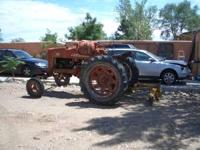 GREAT FARM TRACTOR, MODEL 400,INCLUDES BLADE AND FRONT
