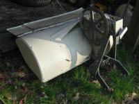 "36"" tilling width. Comes with angle drive and belt."