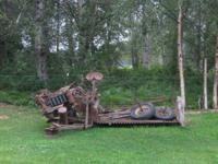 EM4 International Harvester McCormick Binder. Has most