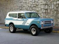 1980 International Scout II turbodiesel. International