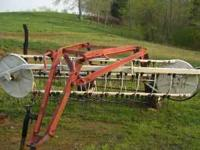 I have an International side bar rake for sale and I
