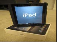 I have an iPad in great condition. It comes with the,