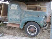 1941 International K5 Truck, All original and complete