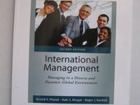 International Management  : Manageging in a divers and