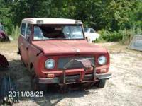 INTERNATIONAL SCOUT MODEL 800 LATE '60'S OR EARLY