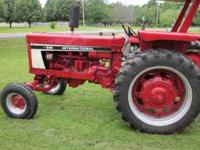 International Tractor 686, 66HP diesel, Two new tires,