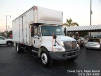 2005 International diesel Box Trucks Automatic