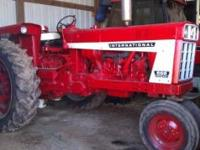 International Harvester 666 gas,3200 hours on tractor,