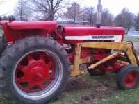 Very nice tractor in great condition. Front Loader