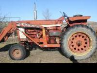 This is an International 806 Diesel Tractor with