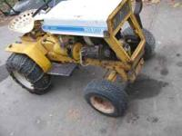 INTERNATIONAL CUB CADET RUNS GOOD IN GOOD CONDITION A