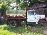 International Loadstar 1600 Dump Truck. Has been parked