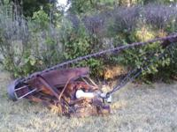 This listing is for a International Sickle Mower. 10ft