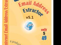 The Internet Email Address Extractor as an email