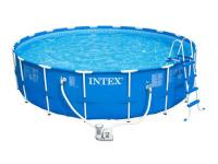 18 ft. x 48 in. Metal Frame Pool Set Big enough to fit