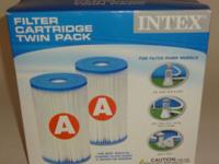 Up for sale is a box of unopened Intex Filter