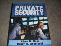 Introduction to Private Security Fourth Edition. Great