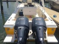 Key Features New 250HP Yamaha 4-Strokes installed in