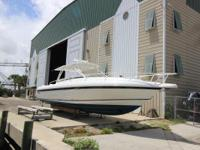 37' Intrepid Walkaround 2003 Repowered with Triple