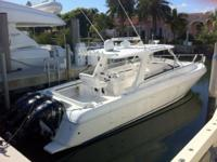 Description This sport yacht takes to the water with a