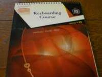 Introduction to Keyboarding textbook. Perfect for