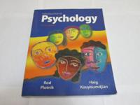 Selling this Introduction To Psychology 9th edition