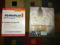 I have a used in good condition INTRO TECH MATHEMATICS
