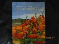 College textbook Introductory Plant Biology 11th