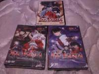i have 5 inuyasha anime dvds im askin $10 each call